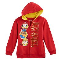 Boys 4-7 Paw Patrol Marshall, Chase & Rubble Zip Hoodie