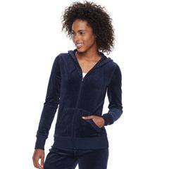 Women's Tek Gear® Velour Zip-Up Jacket
