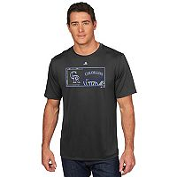 Men's Majestic Colorado Rockies Division Dominator Tee