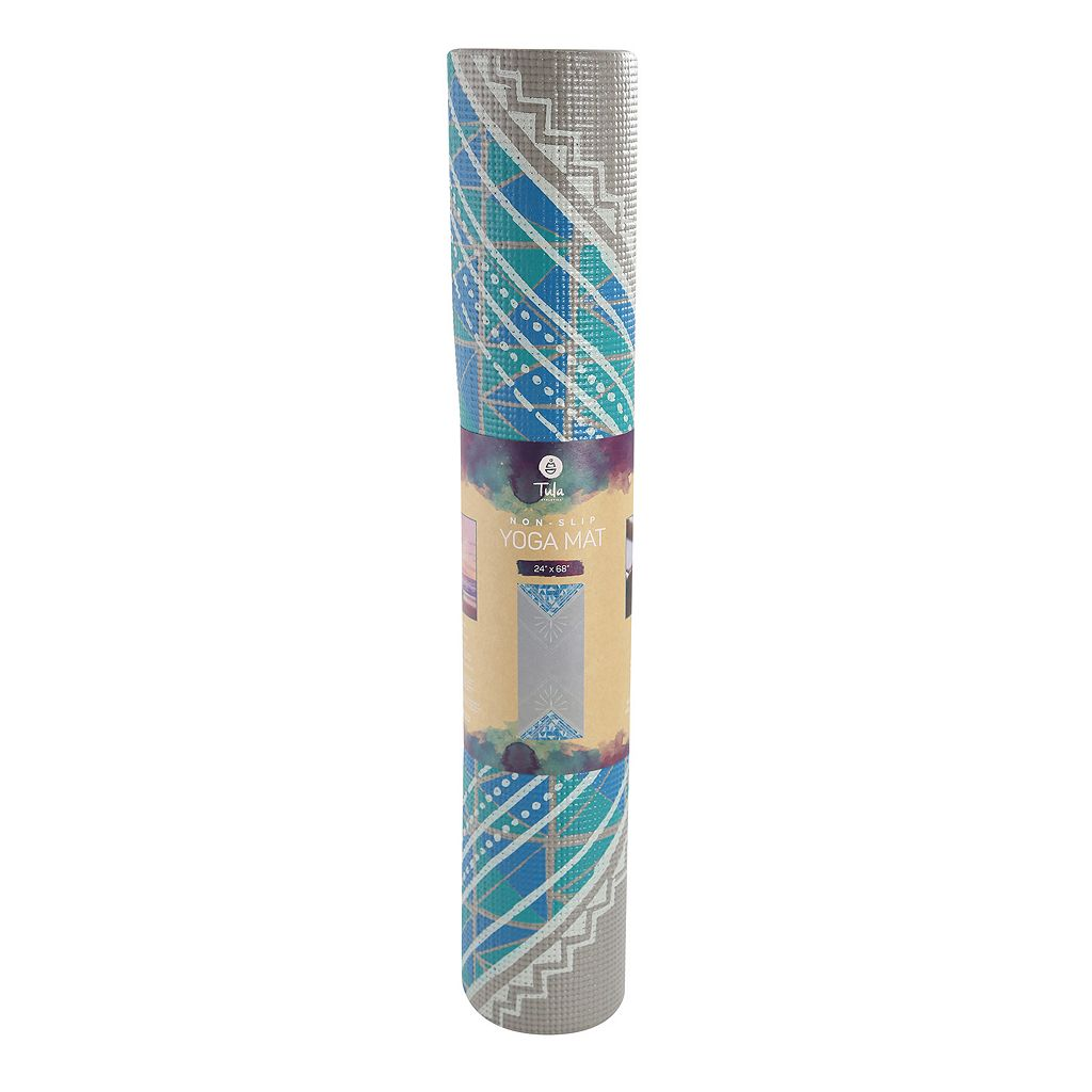 Tula 5mm Triangles Yoga Mat