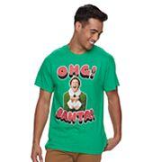 Men's 'Elf' OMG Santa Tee