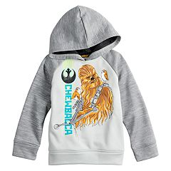 Jumping Beans Star Wars Toddler Boy Chewbacca Raglan Hoodie