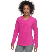 Women's Tek Gear® Stretch V-Neck Long Sleeve Top