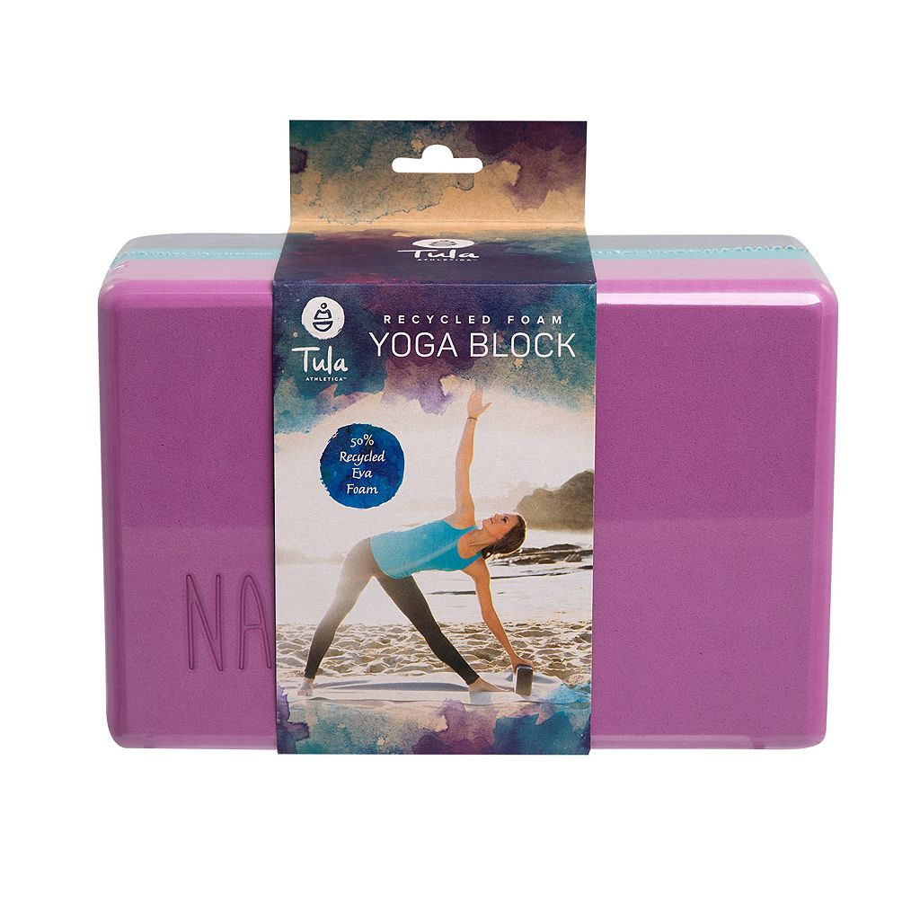 Tula Recycled Foam Yoga Block