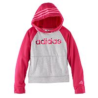 Toddler Girl adidas Raglan Colorblock Hoodie