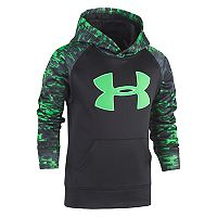 Boys 4-7 Under Armour Blur Logo Pullover Hoodie