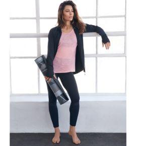 Women's Gaiam Om Moto Yoga Leggings