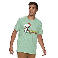 Men's Peanuts Snoopy Holiday Tee