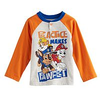 Toddler Boy Paw Patrol Rubble, Marshall & Chase Raglan Henley
