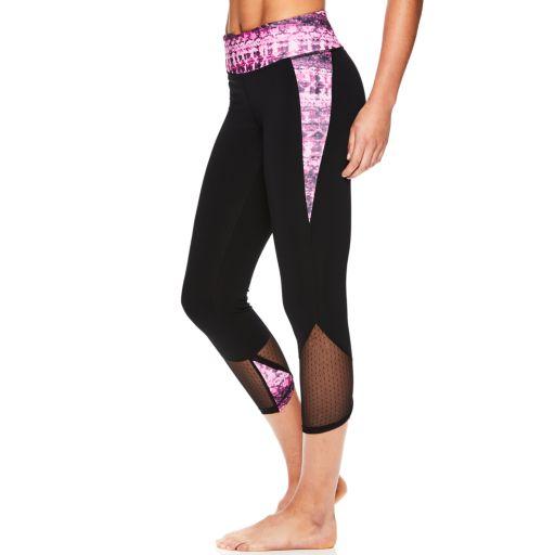 Women's Gaiam Om Transcend Yoga Capri Leggings
