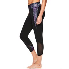Women's Gaiam Om Transcend Yoga Capri Leggings