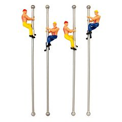 Fireman's Pole Drink Stirrers
