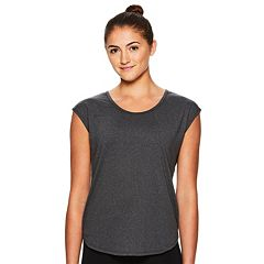 Women's Gaiam Reflection Short Sleeve Yoga Top