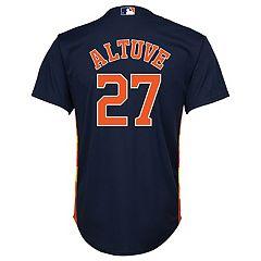 Boys 8-20 Majestic Houston Astros Jose Altuve Cool Base Replica Jersey