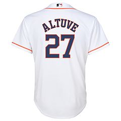 Boys 8-20 Majestic Houston Astros Jose Altuve Cool Base Replica Jersey