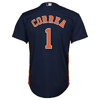 Boys 8-20 Majestic Houston Astros Carlos Carrea Cool Base Replica Jersey