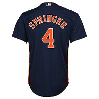 Boys 8-20 Majestic Houston Astros George Springer Cool Base Replica Jersey