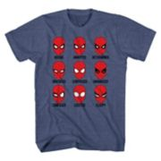 Boys 8-20 Marvel Spider-Man Moods Tee