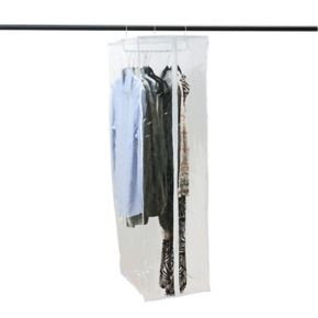 Simplify Crystal Clear Hanging Garment Closet