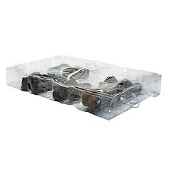 Simplify Crystal Clear Under The Bed Shoe Storage Bag
