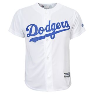 Boys 8-20 Majestic Los Angeles Dodgers Clayton Kershaw Cool Base Replica Jersey