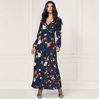 LC Lauren Conrad Runway Collection Wrap Maxi Dress - Women's