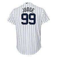 Boys 8-20 Majestic New York Yankees Aaron Judge Cool Base Replica Jersey