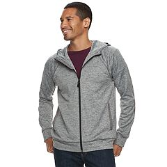 Men's Marc Anthony Slim-Fit Knit Lightweight Hooded Jacket