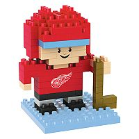 Forever Collectibles Detroit Red Wings BRXLZ 3D Mini Player Puzzle Set