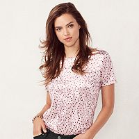 Women's LC Lauren Conrad Printed Top