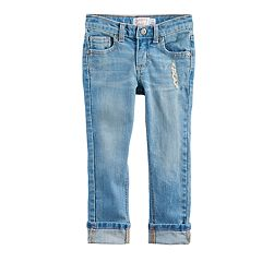 Toddler Girl Jumping Beans® Destructed Skinny Jeans