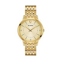 Bulova Women's Classic Diamond Stainless Steel Watch - 97P123