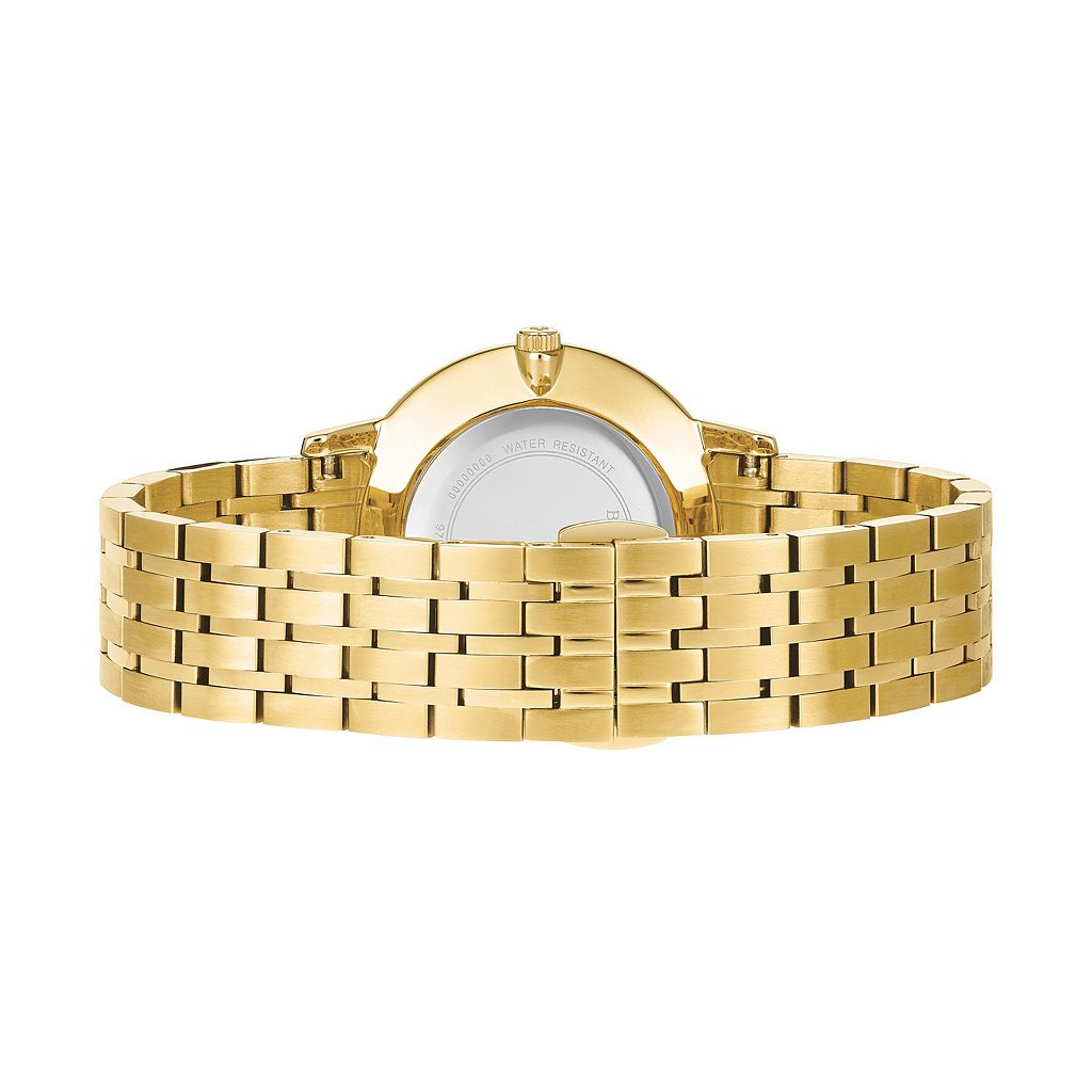 Bulova Women's Classic Diamond Stainless Steel Watch - 97P123