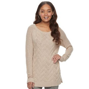 SONOMA Goods for Life Lattice Womens Sweater