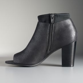 Simply Vera Vera Wang Melbourne Women's Ankle Boots