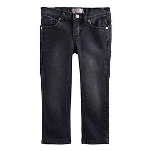 Toddler Girl Jumping Beans® Black Skinny Jeans