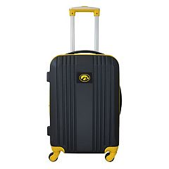 Iowa Hawkeyes 21-Inch Wheeled Carry-On Luggage
