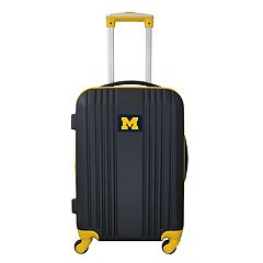 Michigan Wolverines 21-Inch Wheeled Carry-On Luggage