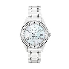 Bulova Women's Marine Star Diamond Ceramic Watch - 98P172
