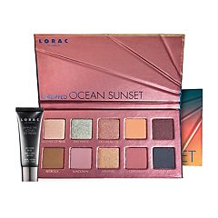 LORAC Unzipped Ocean Sunset Eyeshadow Palette With Mini Eye Primer