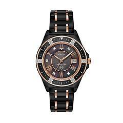 Bulova Women's Marine Star Diamond Ceramic Watch - 98R242