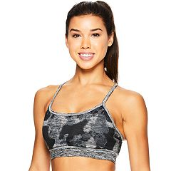 Gaiam Bras: Flow Reversible Medium-Impact Sports Bra GKW181BR11