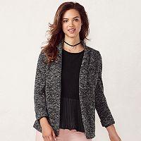 Women's LC Lauren Conrad Knit Blazer