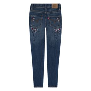 Girls 4-6x Levi's 710 Super Skinny Fit Embroidered Jeans