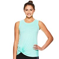 Women's Gaiam Twist Front Yoga Tank