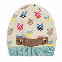 Women's MUK LUKS Arrow & Chevron Beanie