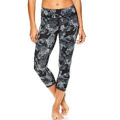 Women's Gaiam Om Reversible Yoga Capri Leggings