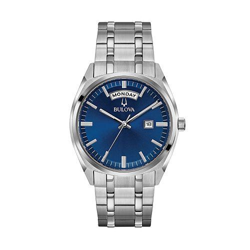 Bulova Men's Classic Stainless Steel Watch - 96C125