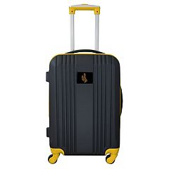 Wyoming Cowboys 21-Inch Wheeled Carry-On Luggage