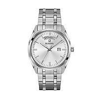 Bulova Men's Classic Stainless Steel Watch - 96C127